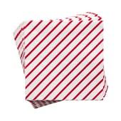 Butlers APRÈS Papierserviette Candy Cane gestreift rot-weiß