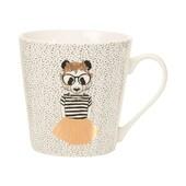 Butlers Coffee Deluxe Tasse Panda Girl 350 ml weiß