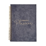 Butlers Velvet Notizbuch DIN A5 Happiness Planner