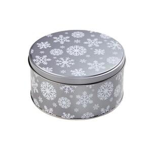 Butlers Cookie Jar Dose Schneeflocke Ø 13,5 cm silber