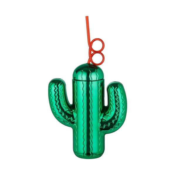 Butlers Happy Hour Trinkbecher Kaktus mit Trinkhalm 600ml