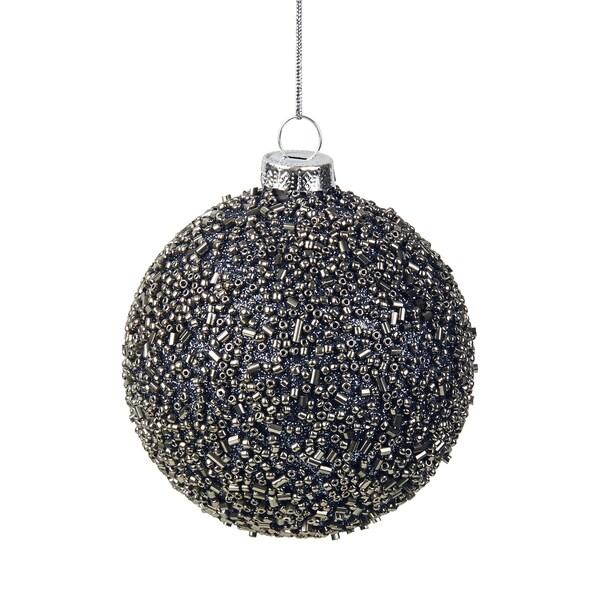 Butlers Hang On 4x Weihnachtskugel Perlen Ø 8 cm