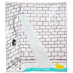 Butlers Wet Wet Wet Duschvorhang Ente bunt