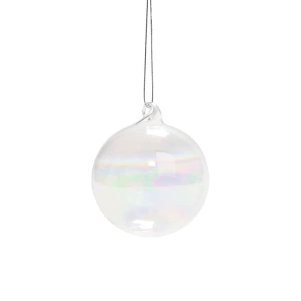Butlers Hang On 6 x Glaskugel klar Ø 6 cm Transparent
