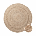 Butlers All Nature Hanf-Teppich Ø150cm
