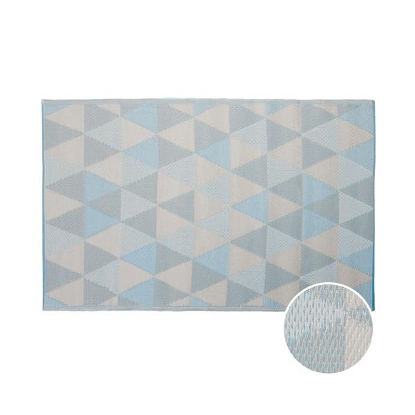 Butlers Colour Clash In- & Outdoor-Teppich Dreiecke L 180 x B 120cm