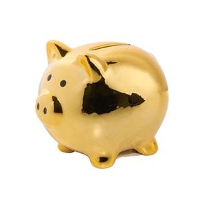 Butlers Piggybank Sparschwein gold