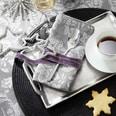 Butlers Silver Lining Kaffeetasse mit Untertasse weiß