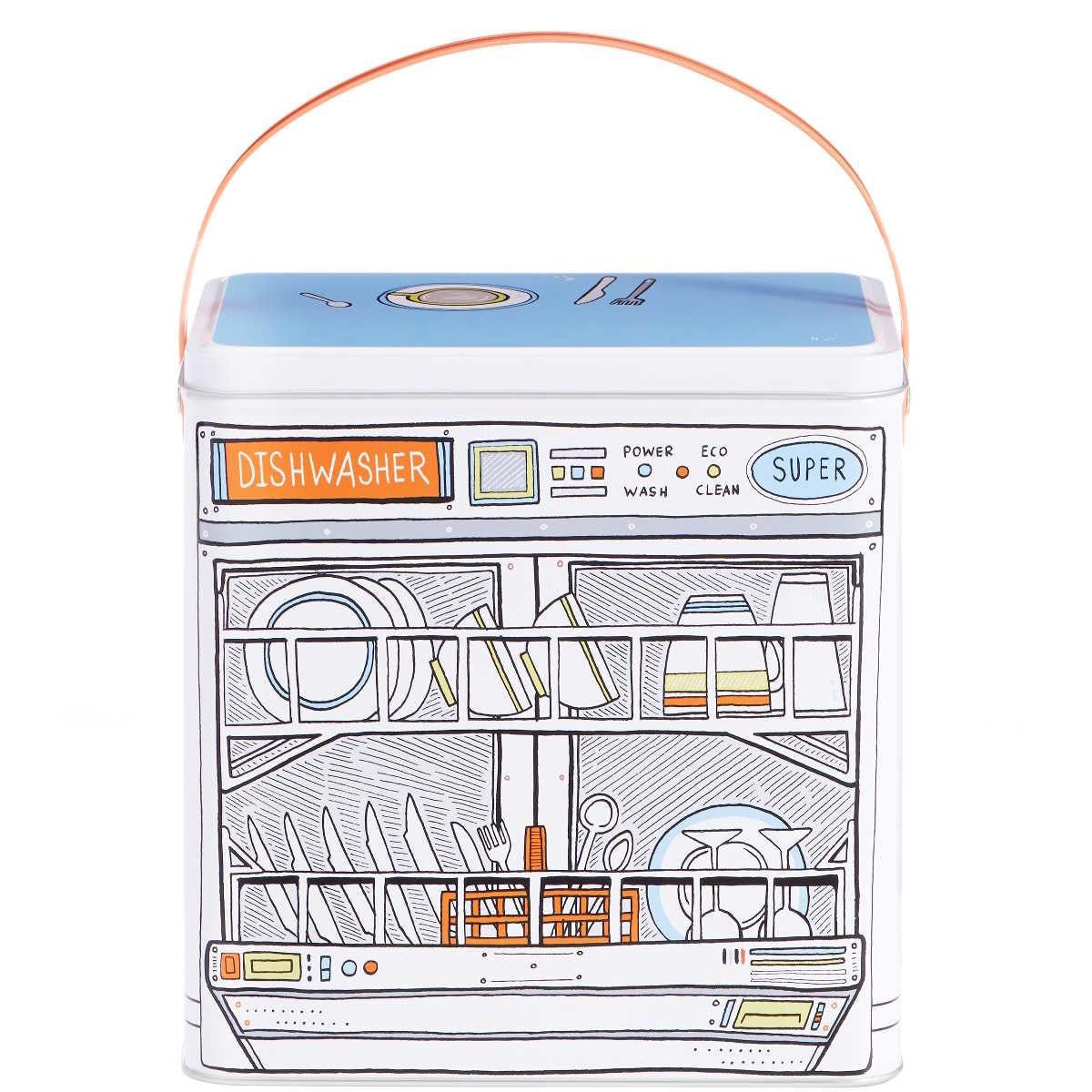 Butlers Dishwasher Geschirrspülmitteldose weiss