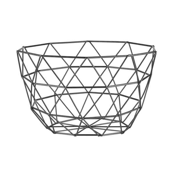 Butlers Geometrics Metallkorb Dreiecke Ø26cm