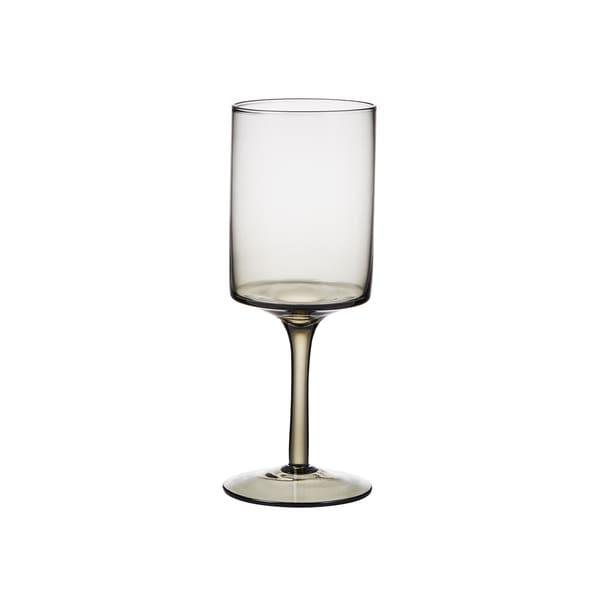Butlers Savor Wasserglas Höhe 20 cm Anthrazit