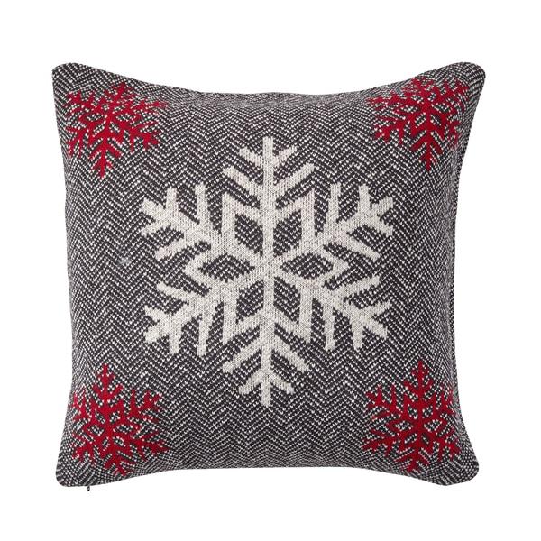 Butlers Snowflake Kissen Schneeflocke 50x50cm