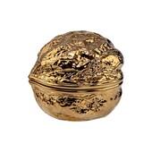 Butlers Walnut Walnuss Dose klein gold