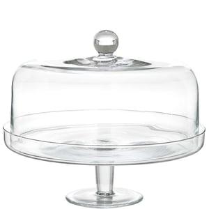 Butlers Gâteaux Tortenplatte mit Deckel transparent