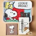Butlers Peanuts Frühstücksbrettchen Snoopy Toast schwarz-weiss