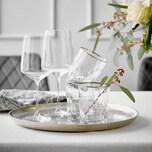 Butlers Upscale 6x Wasserglas mit Goldrand 345ml