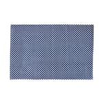 Butlers Silent Dancer Teppich gepunktet 60x90 cm blau-weiss