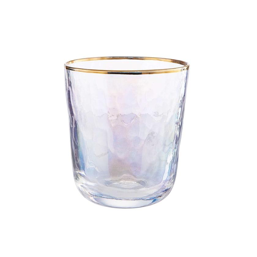 Butlers Smeralda 6x Trinkglas mit Goldrand 280ml