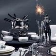 Butlers Gourmet Fondue Set 22 teilig Schwarz