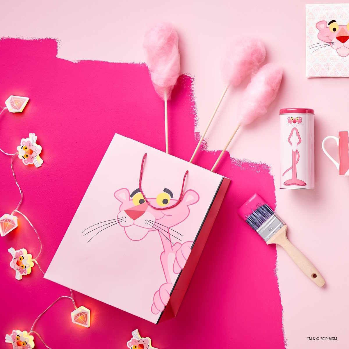 Butlers Pink Panther Kaffeepaddose rose