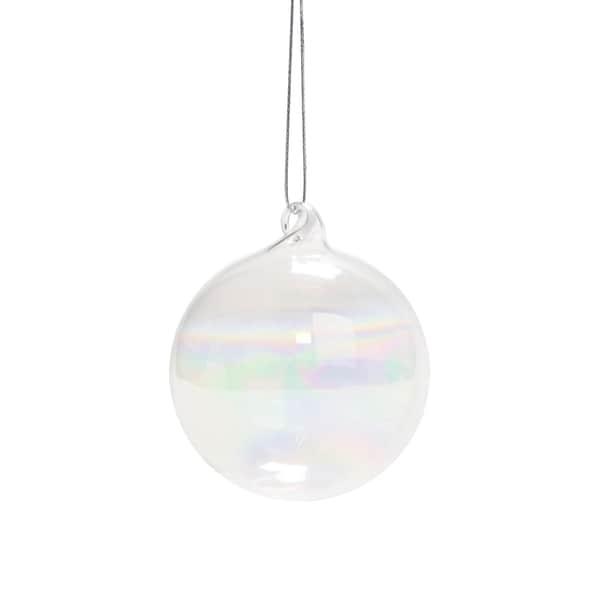 Butlers Hang On 6er-Set Glaskugel klar Ø 8 cm