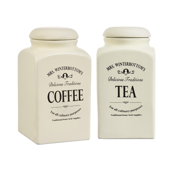 Butlers Mrs. Winterbottom's Kaffee- und Teedose Set 1,3 l