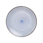 Butlers Dim Sum Teller Ø 25,5 cm blau-weiß