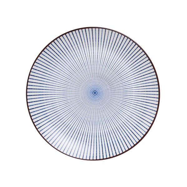 Butlers Dim Sum Teller blau/weiß Ø 25,5cm