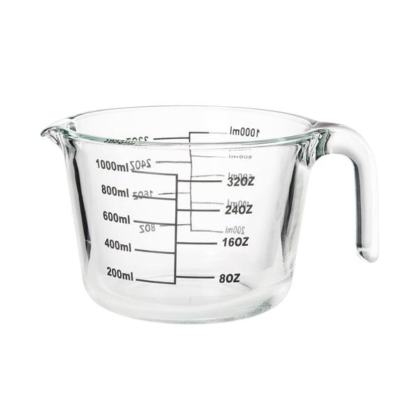 Butlers Recipe Messbecher aus Glas 1 L