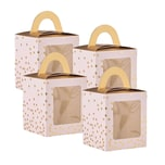 Butlers Celebration Cupcake Box 4er Set rosa