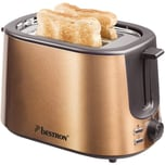 Bestron Toaster ATS1000CO Kupfer