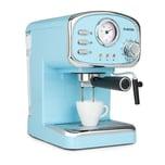 Klarstein Espressionata Gusto Espressomaschine 1100W 15 Bar Druck