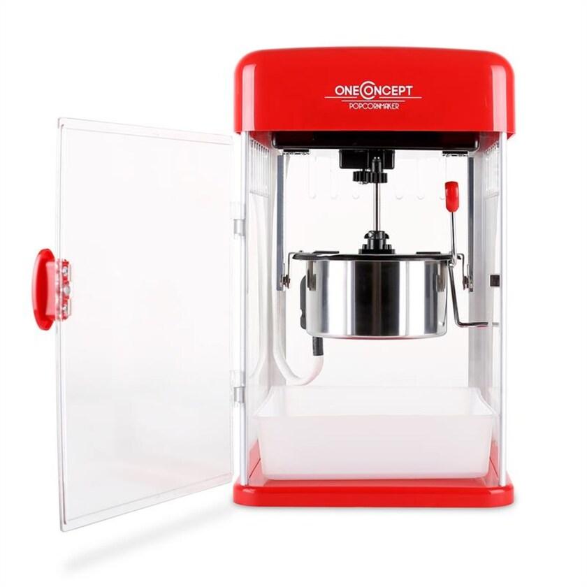 OneConcept Rockkorn Popcornmaker 350W 23,5x38,5x27cm