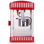 Klarstein Volcano Popcornmaschine 300W Rührwerk Edelstahl-Topf