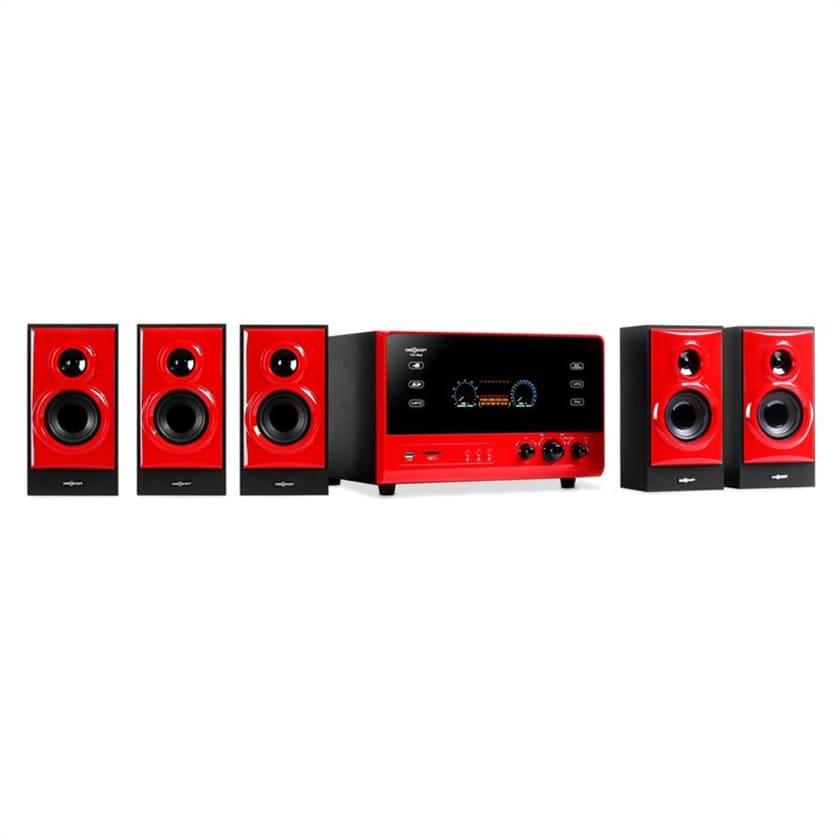 OneConcept V51 Aktives 5.1 Sorround Audiosystem 70W RMS