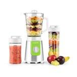 Klarstein Shiva Standmixer Mini Smoothiemaker 0,8l 350W BPA-frei grün
