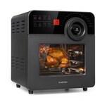 Klarstein AeroVital Cube Chef Heißluftfritteuse 16 Programme 1700W 14l schwarz