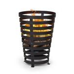 Blumfeldt Verus Feuerkorb aus Stahl stabiler Stand robust schwarz