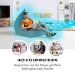 Klarstein Klarstein Maxfresh 3-in-1 Luftkühler Ventilator Luftbefeuchter 444m³/h mobil