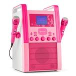 Auna KA8P-V2 PK Karaokeanlage pink
