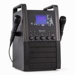 Auna KA8B-V2 BK Karaokeanlage schwarz