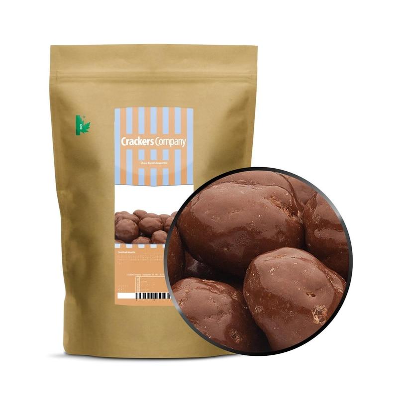 Choco Biscuit Amarettini - amaretti Kekse in Milchschokolade - ZIP Beutel 450g