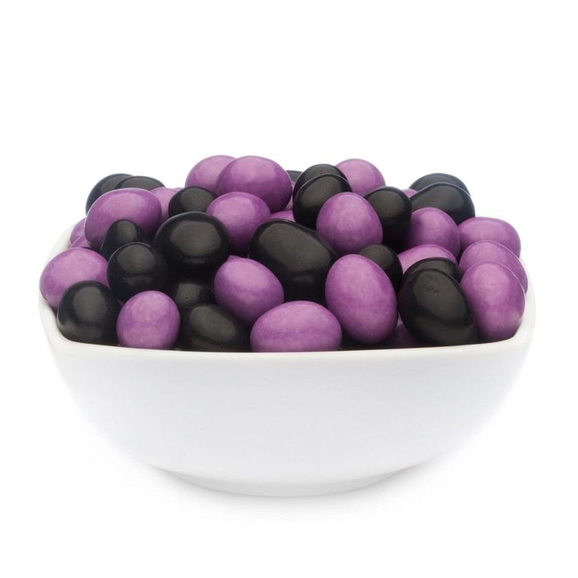 Purple & Black Peanuts - Vollmilchschokonüsse Lila und Schwarz - Vorratspackung 5kg