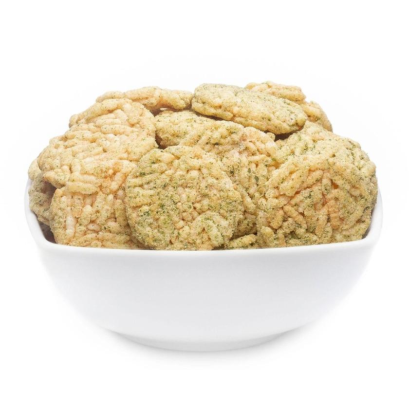 Risotto Seaweed Cracker - Mediterran gewürzte Seegras-Reiscracker - Vorratspackung 2kg