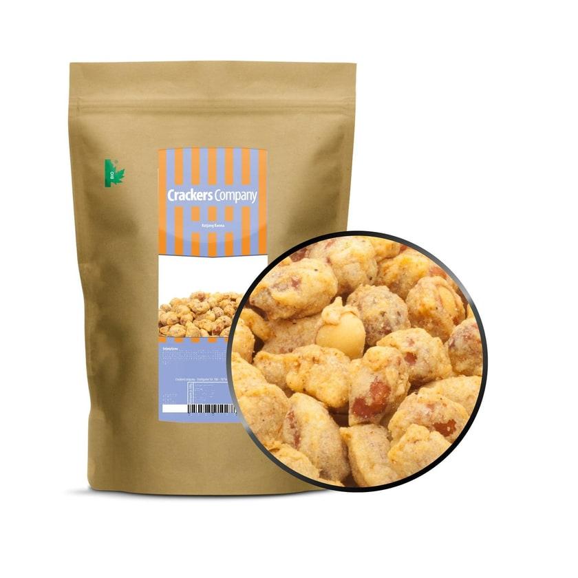 Katjang Korma - Erdnuss Snack mit einer Curry Hülle - ZIP Beutel 400g