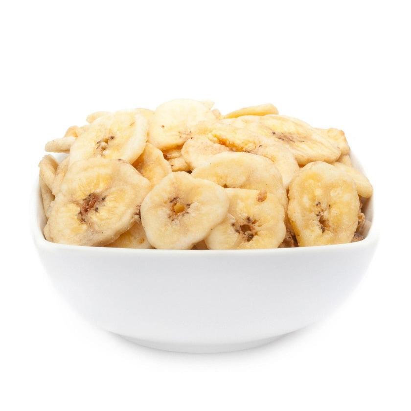 Banana Crispychips - Frittierte Bananenscheiben mit Honig - Vorratspackung 6,8kg