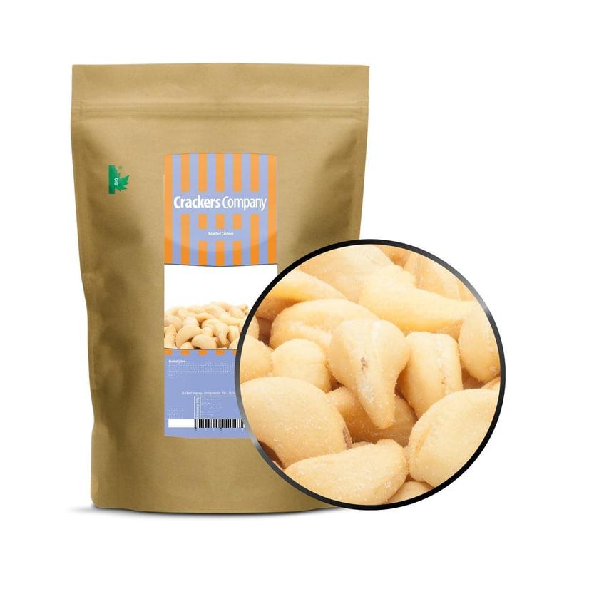 Roasted Cashew - Geröstet und gesalzene Cashewkerne - ZIP Beutel 550g