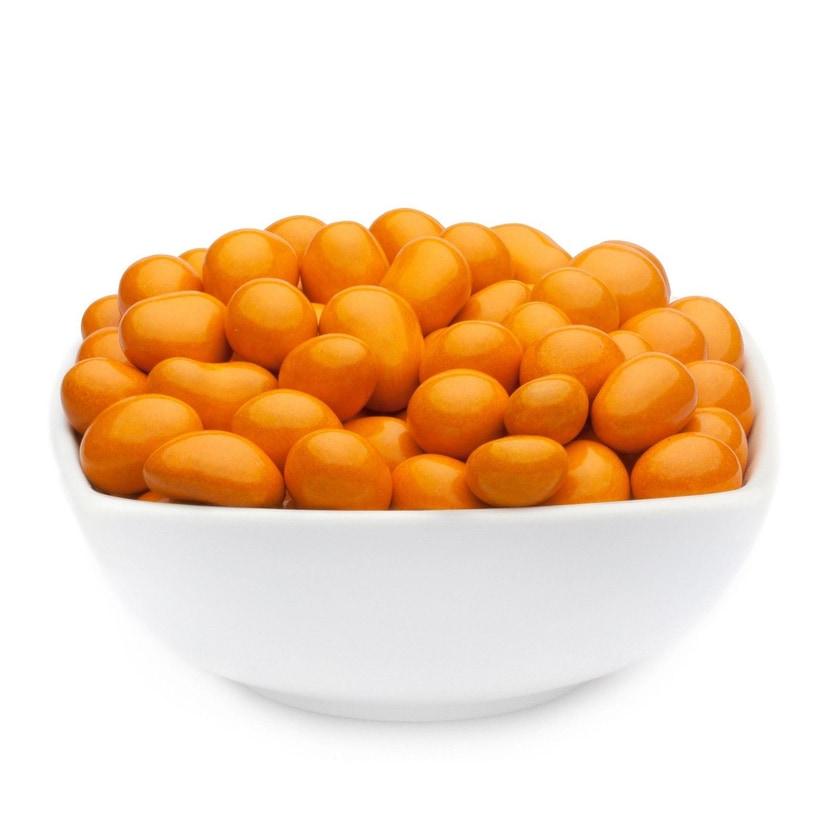 Orange Choco Peanuts - Erdnüsse in Vollmilchschokolade Orange - Vorratspackung 5kg