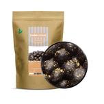 Black & Gold Choco Peanuts - Schoko-Erdnüsse mit echtem Goldglitter - ZIP Beutel 750g