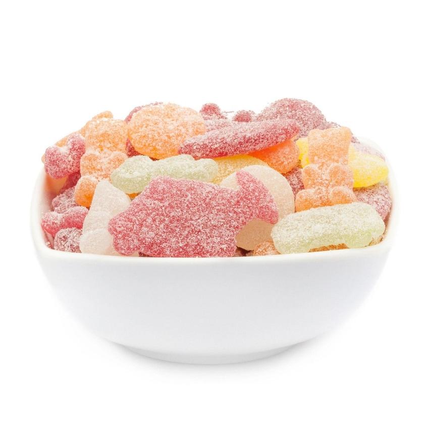 Extra Sour Mix - Extra Saure gelatinefreie Gummibonbons - Vorratspackung 3kg